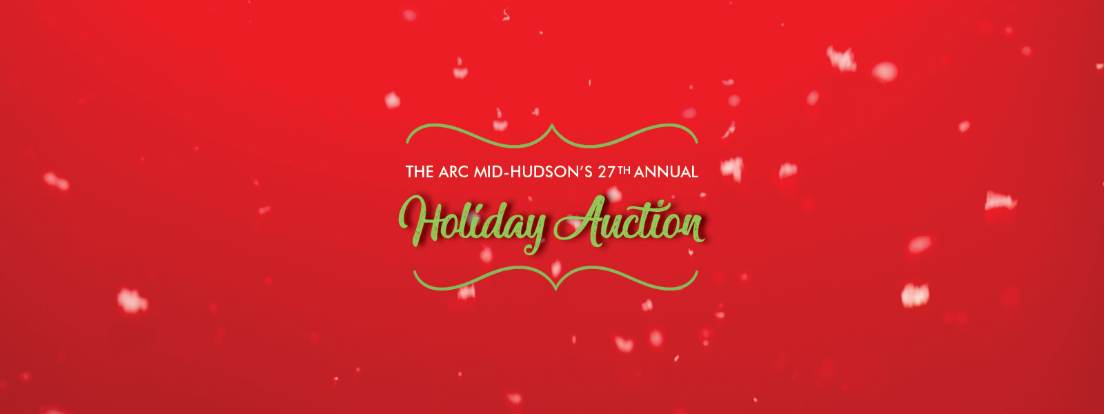 2019 Holiday Auction banner