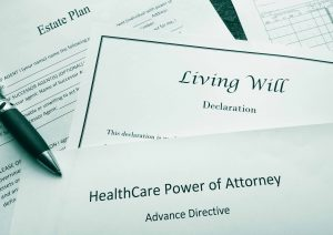 healthcare papers and living will